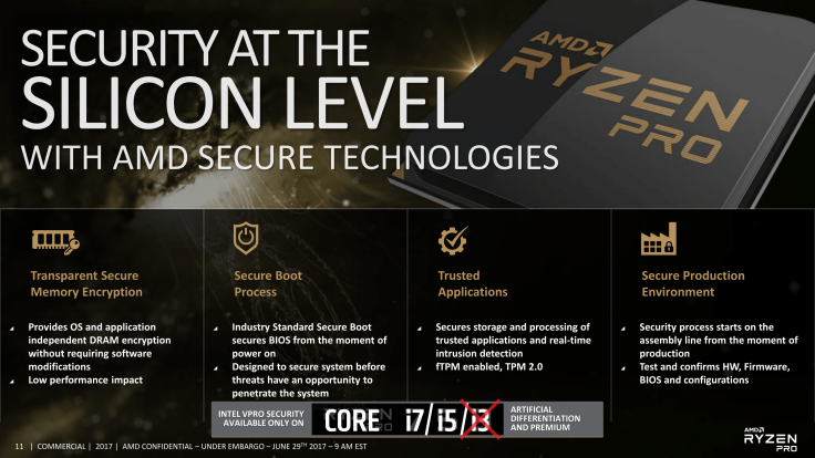 AMD's Platform Security Processor (PSP) can be disabled via BIOS