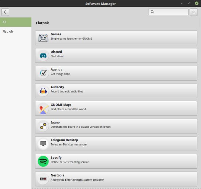 sylvia-flatpak-apps
