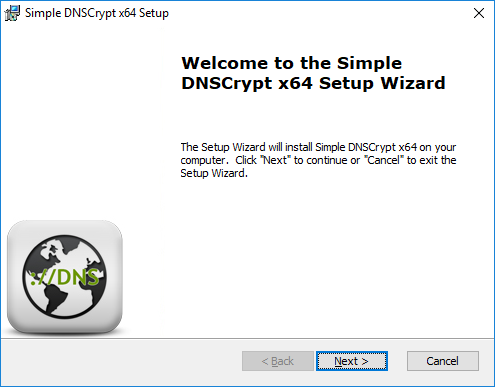 SimpleDNSCryptInstaller