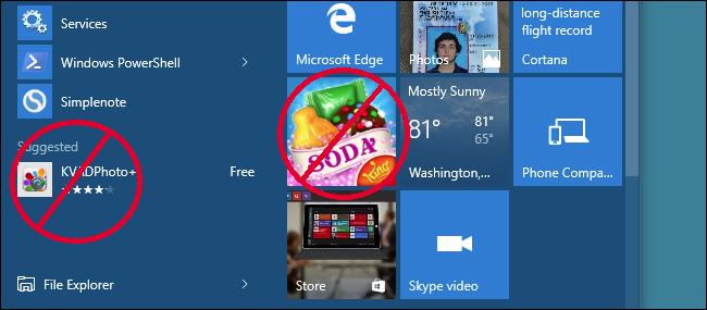 """Disable Windows 10 """"Suggested Apps"""" – CK's Technology News"""