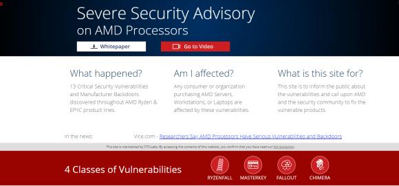 AMDFlaws Homepage