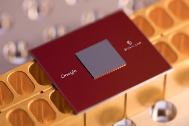 Google Bristlecone quantum computing chip
