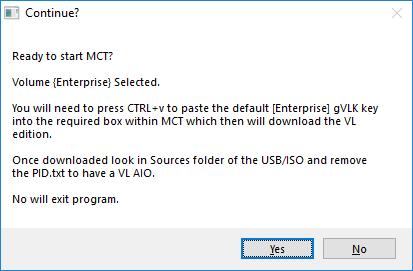 MCT start