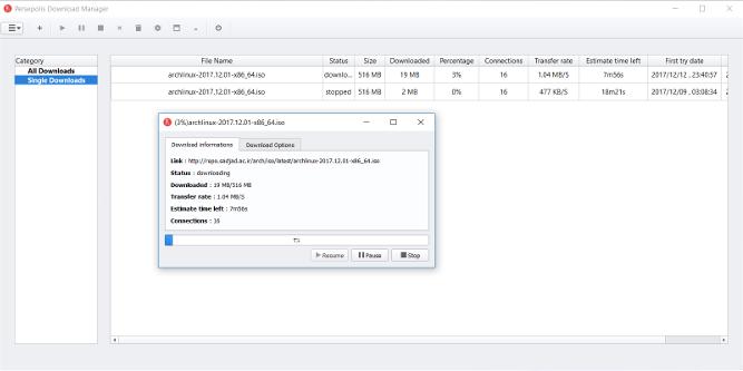 Persepolis Download Manager