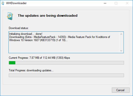 WHDownloader Downloader