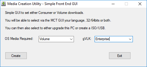 Windows Media Creation Tool Utility GUI – CK's Technology News