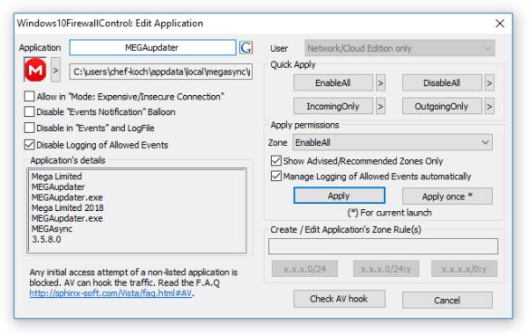 Windows 10 Firewall Control Review – CK's Technology News