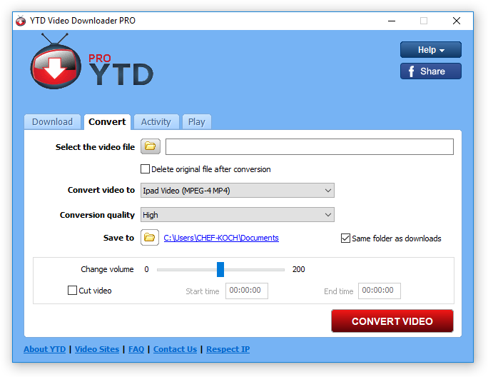 YTD Pro Converter